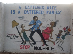 Battered wife, battered family